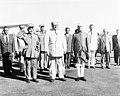 Prime Minister Sabri al-Asali welcoming Jawaharlal Nehru at Damascus Airport.jpg