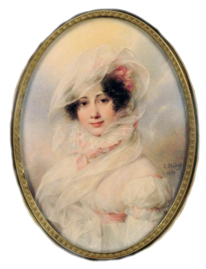 """Catherine Bagration - """"Princesse Bagration"""" by Jean-Baptiste Isabey"""