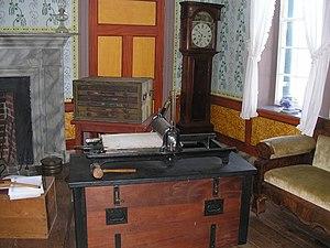Clover Hill Tavern - Printing paroles at the  Clover Hill Tavern