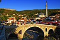 Prizren, Stone Bridge, Sinan Pasha Mosque and City Castle.jpg