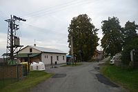 Prosíčka (okres Havlíčkův Brod) - centrum obce.JPG
