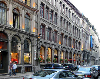 Rue Saint-Paul (Montreal) - Saint Paul Street in Old Montreal