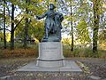 Pushkinskiye Gory. Monument to Alexander Pushkin.JPG