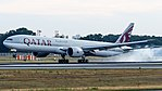 Qatar Airways Boeing 777-300ER (A7-BAL) at Frankfurt Airport.jpg