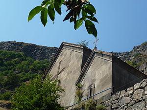 Georgian churches in Armenia - Image: Qobayr 2015 aug pic 01