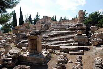 Temples of the Beqaa Valley - Roman temple of Qsarnaba, near Zahle, Lebanon