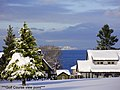 Qualicum Beach Winter 08-09 from Golf course^^In the far the Continental mountains - panoramio.jpg