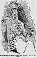 Queen Mamea, the buxom ruler of the South Sea Isle of Huaheme, 1896.jpg
