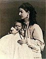Queen Margherita and her only child.jpg