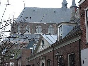 Pieterskerk, Leiden - Image: Quirepieterskerkleid en