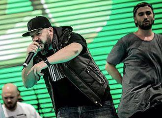 R.A.C.L.A. - From left to right: DJ Grewu, Rimaru, TKE