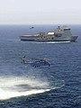 RFA Cardigan Bay (L3009) and HMS Middleton (M34) in the Arabian Sea, 17 June 2018 (180617-N-NO146-0001).JPG