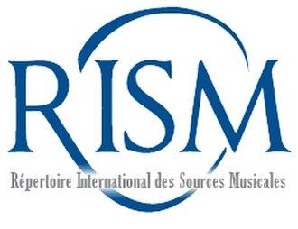 Répertoire International des Sources Musicales - Image: RISM Organization Logo