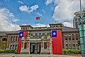 ROC flags at Hsinchu Municipal Government Hall 20181008.jpg