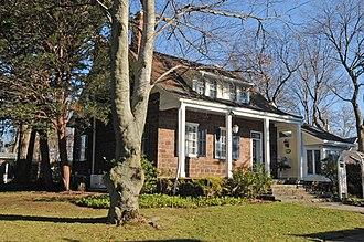 Maywood, New Jersey - Romine-Van Voorhis House