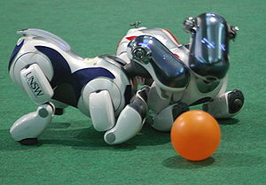 RoboCup - Image: RUNS Wift AIBOS