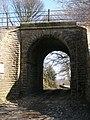 Rail Bridge by Gunthwaite Hall - geograph.org.uk - 1225990.jpg