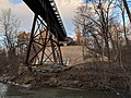 Railway bridge over the Don River in East Don Parkland (20181209160422).jpg