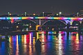 Rainbow Lights - Saint Anthony Falls Bridge (19167769146).jpg