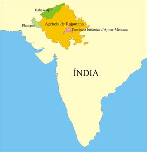 Khairpur (princely state) - Image: Rajputana