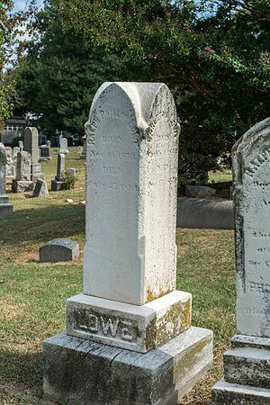 Ralph P. Lowe - Grave of Ralph P. Lowe.