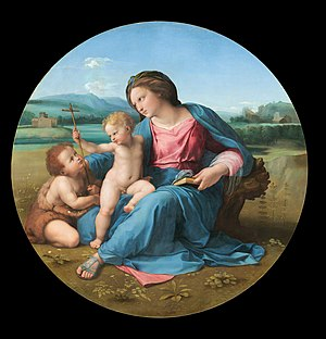 Alba Madonna - Image: Raphael The Alba Madonna Google Art Project