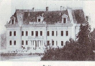 Rașcov - Juriewicz Palace in Rașcov (demolished)