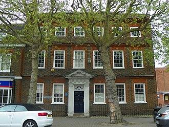 Grade II* listed buildings in Broxbourne (borough) - Image: Rathmore House, Hoddesdon