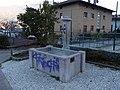 Ravina - Fontana con scritta omofoba.jpg
