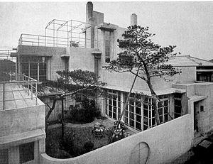 Antonin Raymond - Reinanzaka House (1924)