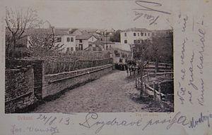 Dekani - 1911 postcard of Dekani