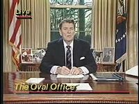 Archivo:Reagan Space Shuttle Challenger Speech.ogv