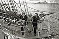 Recepción a bordo del buque de la Armada Argentina 'Presidente Sarmiento' fondeado en la bahía donostiarra (4 de 7) - Fondo Car-Kutxa Fototeka.jpg
