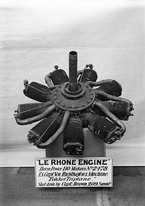 Red Baron's engine IWM Q 31461.jpg