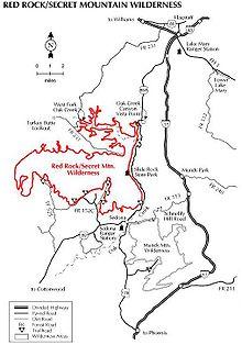 download map red rock cs