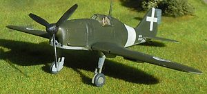 Reggiane Re.2001 - Model of the Re.2001 Delta