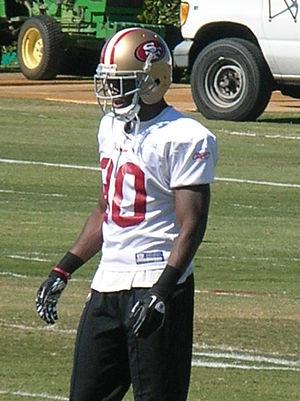 Reggie Smith (defensive back) - Image: Reggie Smith at 49ers training camp 2010 08 11 1