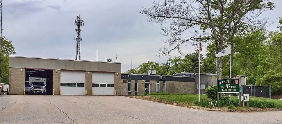 Rehoboth Massachusetts Police and Fire Headquarters
