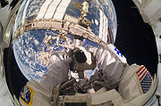 Reisman Self Portrait STS-132 EVA 1