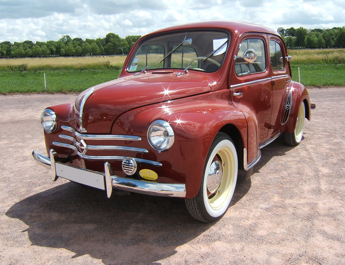 Renault 4cv wikip dia for Interieur 4cv