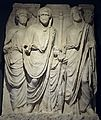 Replica of the Parthian Monument reliefs (161 - 180 AD), Ephesus Museum, Selçuk, Turkey (17070290617).jpg