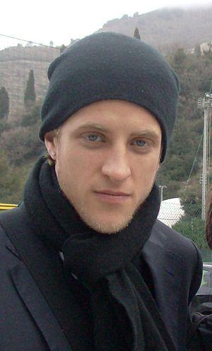 Reto Ziegler - Ziegler with Sampdoria after the training