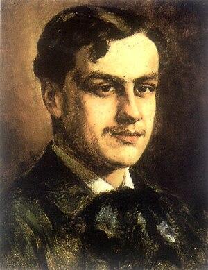 Juan Francisco González -  Augusto d'Halmar portrait