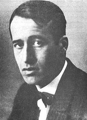 Ricardo Güiraldes - Portrait of Ricardo Güiraldes.