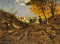 Richard von Poschinger Herbstlandschaft mit Kühen.jpg