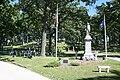 Rienzi Cemetery memorial and graves of veterans.jpg