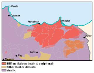 Tarifit Zenati Berber language of northern Morocco