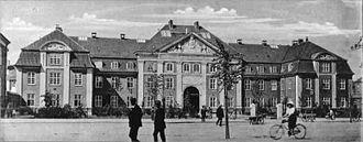 Rigshospitalet - Image: Rigshospitalet 1910