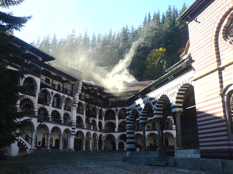 File:Rila monastery - bulgaria.JPG