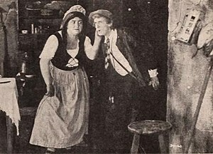 Milla Davenport - Milla Davenport and Thomas Jefferson in Rip Van Winkle (1921)